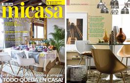 Revista MiCasa - Enero 2015 Portada y P�gina 12