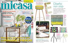 Revista MiCasa - Agosto 2015 Portada y P�gina 8