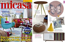 Revista MiCasa - Septiembre 2014 Portada y P�gina 9