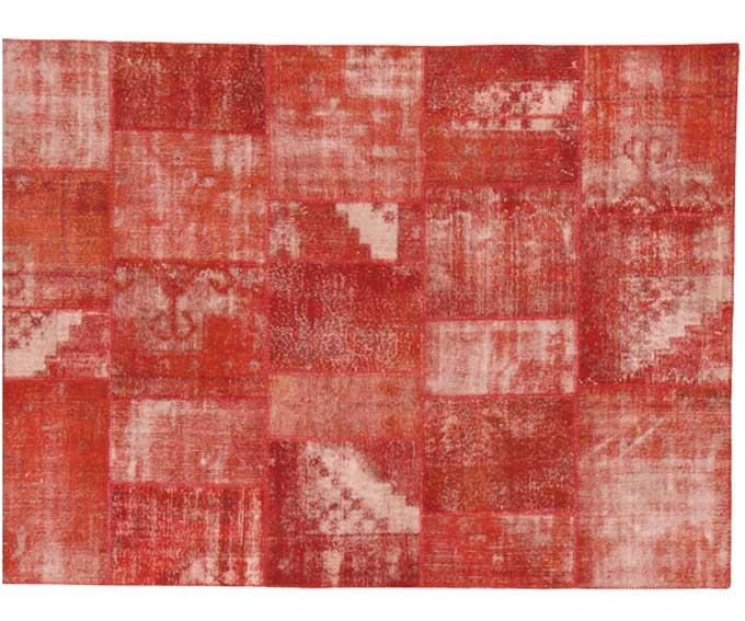 Alfombra madda patch roja no disponible en for Alfombra persa roja