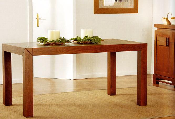 Mesa comedor extensible colonial komodo en - Imagenes de mesas de comedor ...