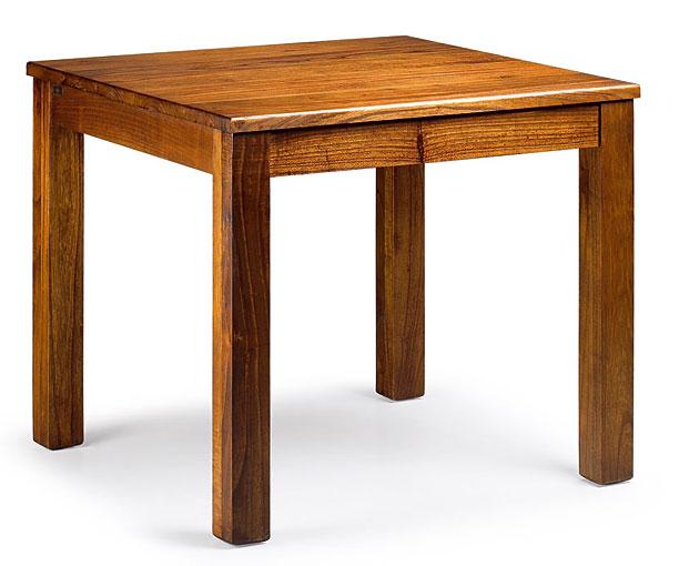 Mesa de comedor cuadrada colonial star en - Imagenes de mesas de comedor ...