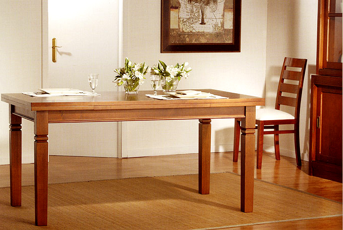Mesa comedor extensible colonial surinam no disponible en - Mesas extensibles comedor ...