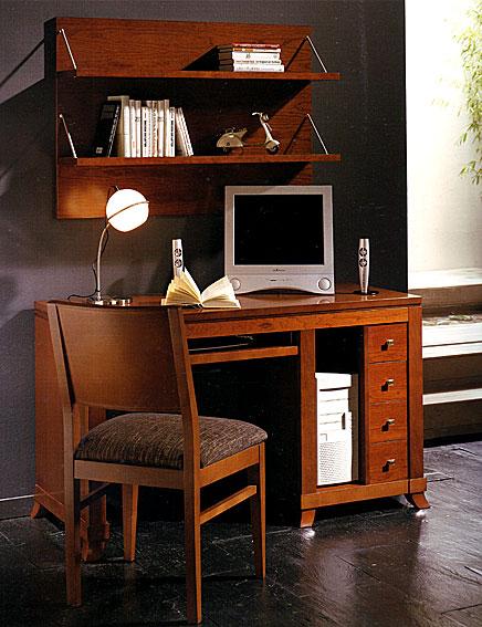 Mesa escritorio con cajonera sena no disponible en - Mesa escritorio colonial ...