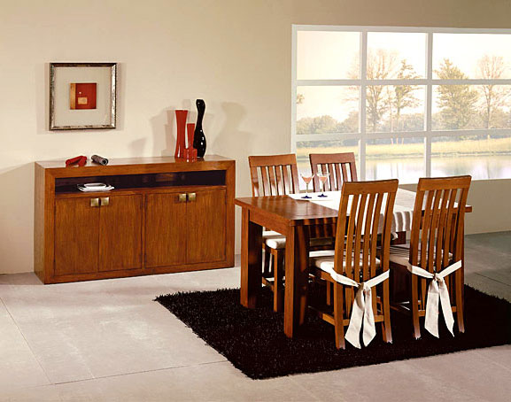 Mesa comedor extensible Colonial Sunkai no disponible en ...