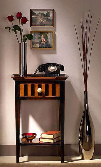 Mesa telefonera florentina 1 caj n no disponible en for Mesa telefonera