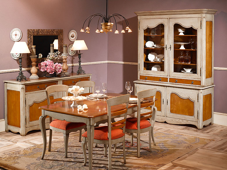 Mesa de comedor cl sica sarlat de lujo en portobellodeluxe for Mesa comedor clasica