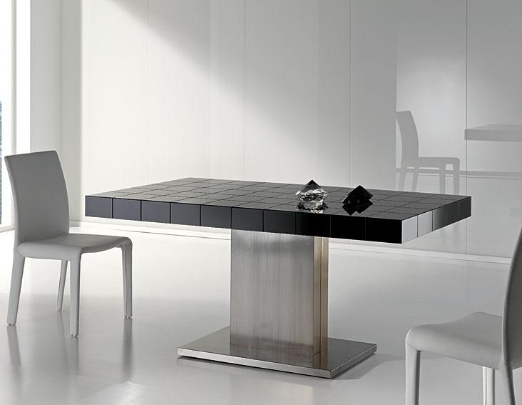 Mesa de comedor diseño Mery Acero no disponible en Portobellostreet.es