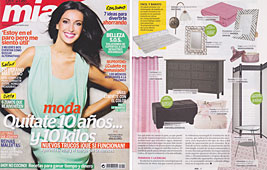 Revista Mia - Julio 2014 Portada y P�gina 47