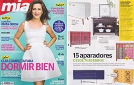 Revista Mia - Abril 2014 Portada y P�gina 52