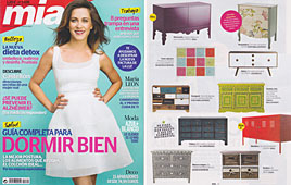 Revista Mia - Abril 2014 Portada y P�gina 53