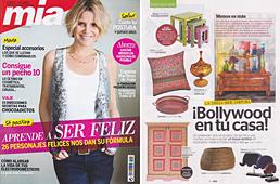 Revista Mia - Marzo 2014 Portada y P�gina 50