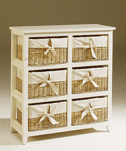 Mueble 6 cestas ashley no disponible en for Muebles con cestas