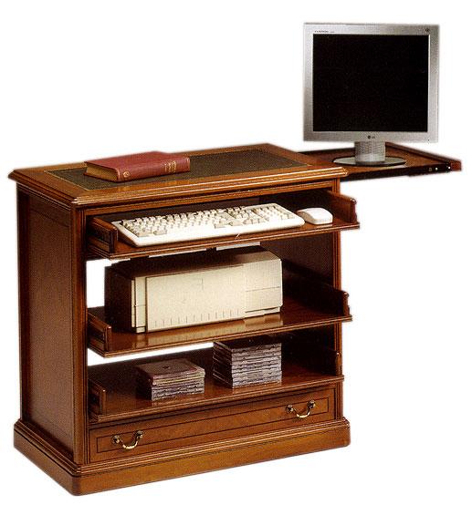 Mueble cpu 1 cajon grande cl sico en cosas de for Mueble para cpu