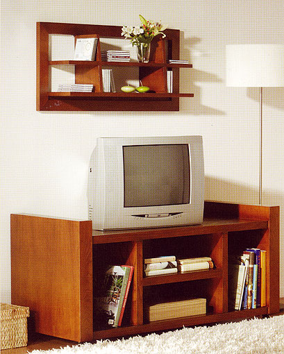 Mueble tv con ruedas colonial senegal no disponible en - Mueble tv colonial ...