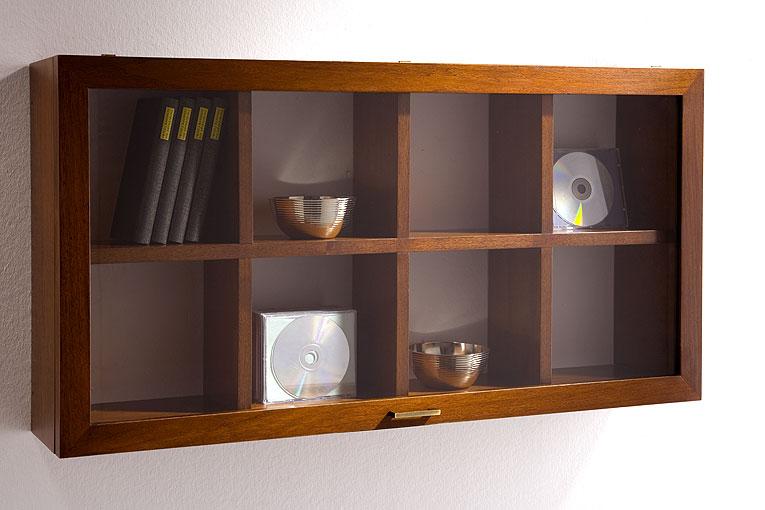 Mueble de cd 39 s 8 huecos cristal no disponible en - Muebles para cd ...