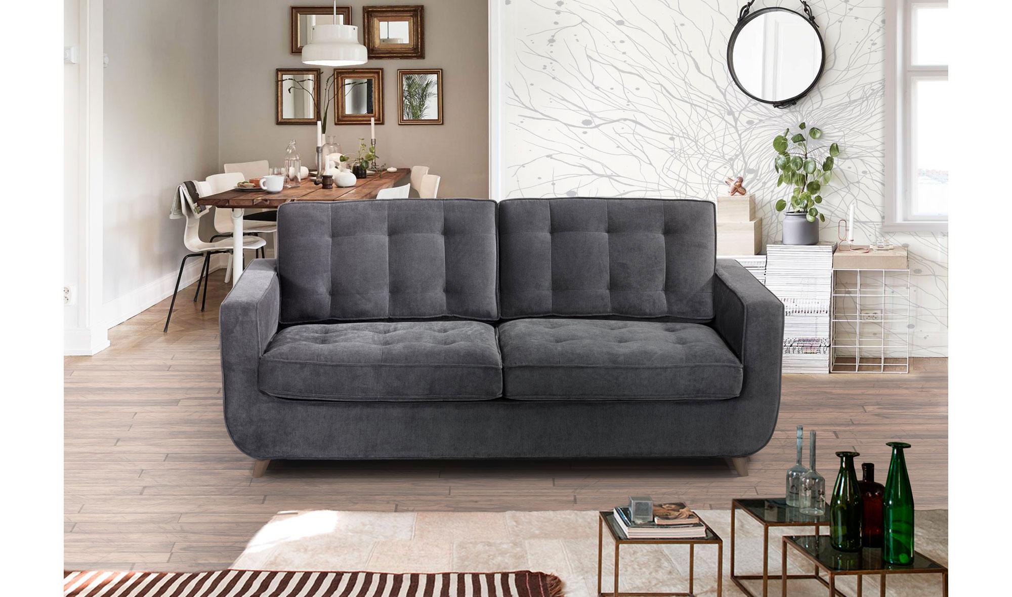 Sof cama retro sterling cooper en - Muebles rey sofa cama ...