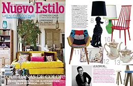 Revista Nuevo Estilo - Abril 2014 Portada y P�gina 15