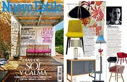 Revista Nuevo Estilo - Julio 2014 Portada y P�gina 3
