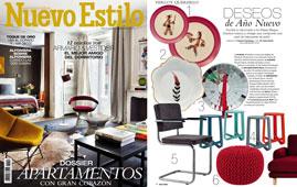 Revista Nuevo Estilo - Enero 2015 Portada y P�gina 14