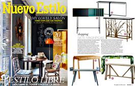 Revista Nuevo Estilo - Marzo 2015 Portada y P�gina 59