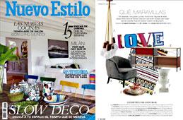 Revista Nuevo Estilo - Abril 2015 Portada y P�gina 16