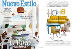 Revista Nuevo Estilo - Julio 2016 Portada y P�gina 16