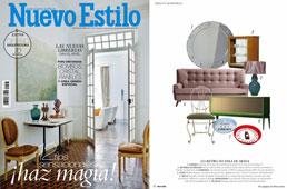 Revista Nuevo Estilo - Octubre 2016 Portada y Página 22
