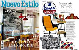 Revista Nuevo Estilo - Septiembre 2014 Portada y P�gina 17