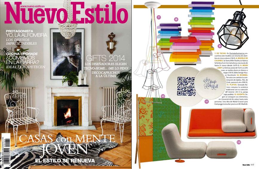 En revista nuevo estilo enero 2014 for Curso de interiorismo nuevo estilo