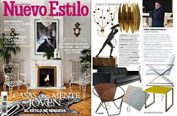 Revista Nuevo Estilo - Enero 2014 Portada y P�gina 20