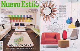 Revista Nuevo Estilo - Febrero 2014 Portada y P�gina 16