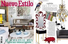 Revista Nuevo Estilo - Marzo 2014 Portada y P�gina 16