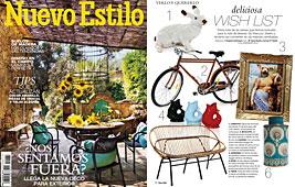 Revista Nuevo Estilo - Mayo 2014 Portada y P�gina 18