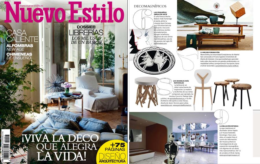 En revista nuevo estilo octubre 2013 for Curso de interiorismo nuevo estilo
