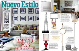 Revista Nuevo Estilo - Noviembre 2014 Portada y P�gina 170