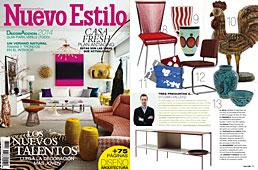 Revista Nuevo Estilo - Junio 2014 Portada y P�gina 19