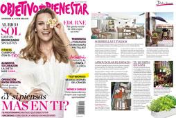 Revista Objetivo o Bienestar - Junio 2016 Portada y P�gina 3