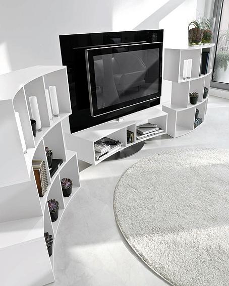 mueble t.v odeon i - librería river en cosas de arquitectoscosas ... - Muebles Tv Diseno
