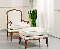 Butaca Reims roble tapizada - Butacas Vintage - Muebles Vintage