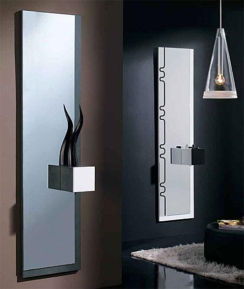 Recibidor con espejo odessa no disponible en for Espejo redondo recibidor
