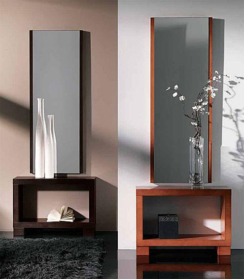 Recibidor y espejo princeton conjunto no disponible en for Espejo grande recibidor