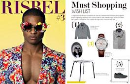 Revista Risbel - Diciembre 2014 Portada y P�gina 12