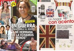 Revista Salvame - Julio 2015 Portada y P�gina 36