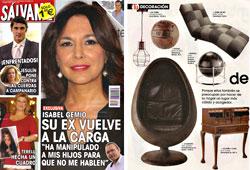 Revista Salvame - Mayo 2015 Portada y P�gina 36