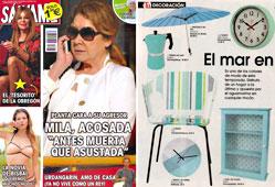 Revista Salvame - Mayo 2015 Portada y P�gina 38
