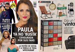 Revista Salvame - Febrero 2015 Portada y P�gina 36