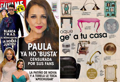 Revista Salvame - Febrero 2015 Portada y P�gina 37