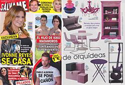 Revista Salvame - Marzo 2014 Portada y P�gina 24