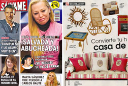 Revista Salvame - Marzo 2015 Portada y P�gina 36